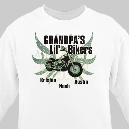 Lil Bikers Personalized Sweatshirt