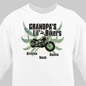 Lil Bikers Personalized Sweatshirt | Personalized Sweatshirts