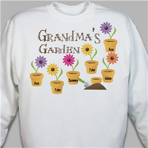 Personalized Garden Sweatshirt | Personalized Sweatshirts