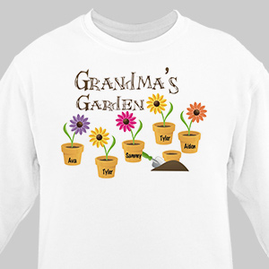 Personalized Garden Sweatshirt