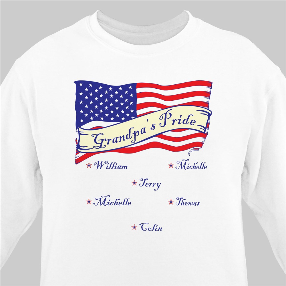 Personalized USA American Pride Sweatshirt