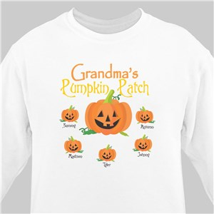Pumpkin Patch Personalized Sweatshirt | Personalized Sweatshirts
