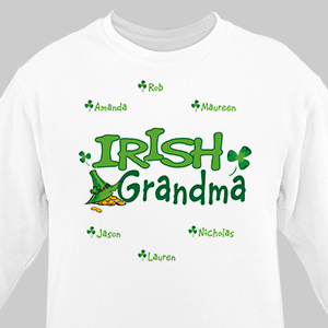Irish Personalized Sweatshirt