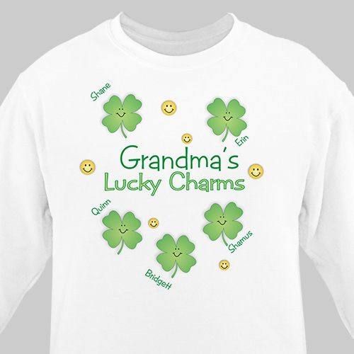 Lucky Charms Personalized Sweatshirt