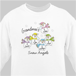 Grandma's Snow Angels Sweatshirt