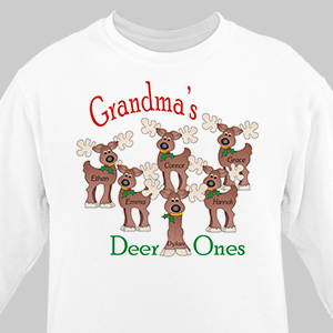 Deer Ones Personalized Sweatshirt | Personalized Sweatshirts