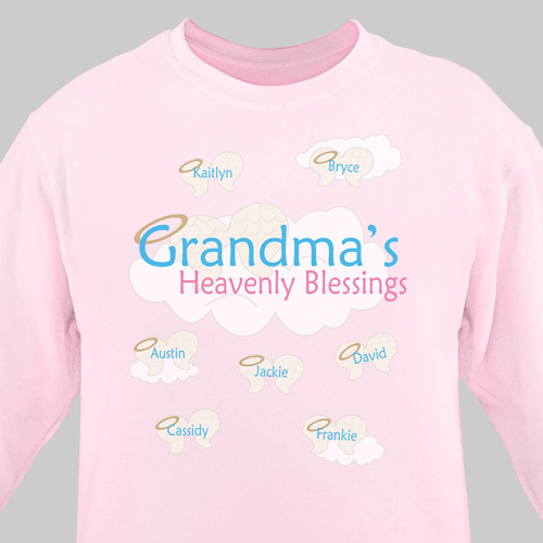 Heavenly Blessings Personalized Sweatshirt
