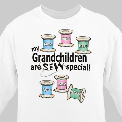 Sew Nice Personalized Quilters Sweatshirt | Personalized Grandma Shirts