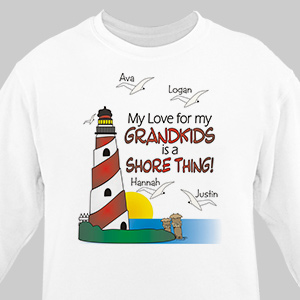 Personalized It's A Shore Thing Sweatshirt