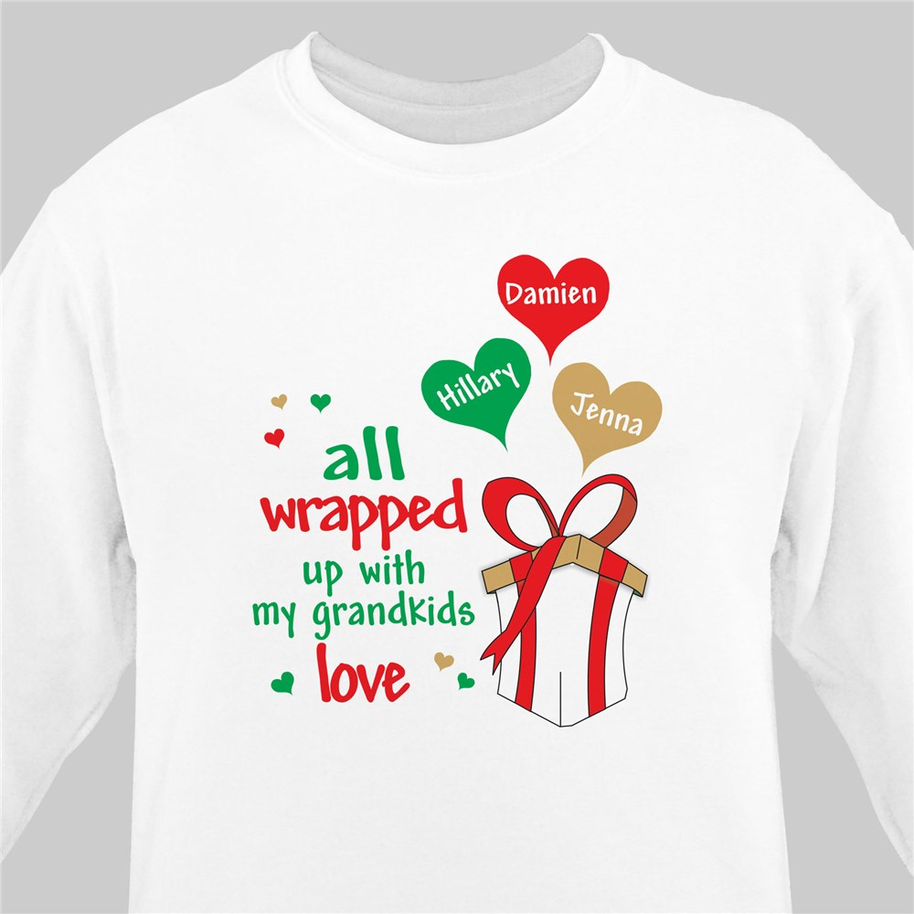 Personalized Christmas Sweatshirt | Personalized Sweatshirts
