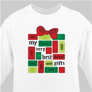 My Very Best Gifts Sweatshirt | Personalized Sweatshirts