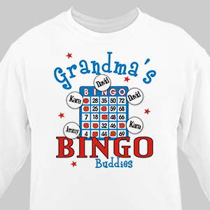 Bingo Personalized Sweatshirt