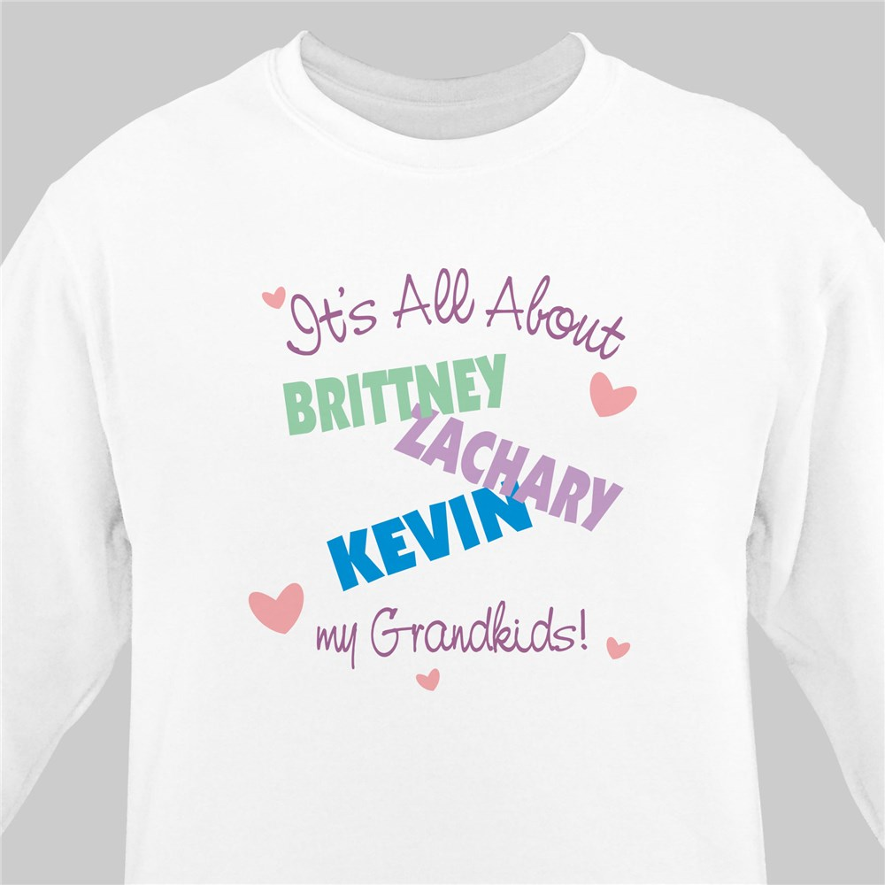 It's All About Personalized Sweatshirt | Personalized Sweatshirts