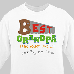 Personalized Grandfather Sweatshirt 57849X