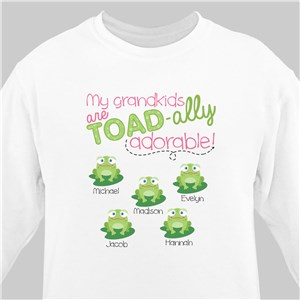 Personalized Sweatshirt for Grandma | Personalized Gifts for Grandma