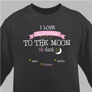 Sweatshirts for Her | To The Moon And Back Sweatshirt