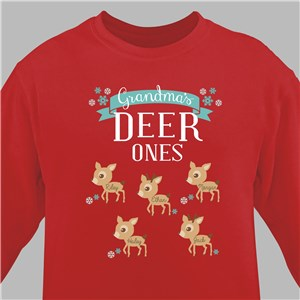 Personalized Deer Ones Sweatshirt 59877X