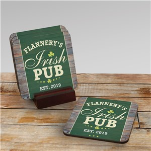 Coaster Set for St Patrick's Day | Irish Decor