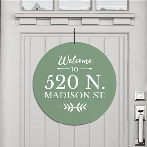 Personalized Welcome House Sign | Personalized Welcome Signs