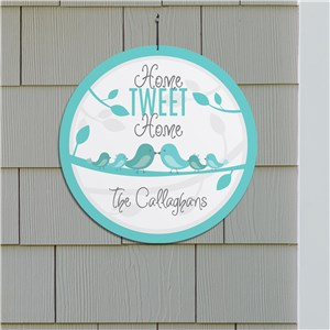 Personalized Home Tweet Home Sign | Personalized Welcome Signs