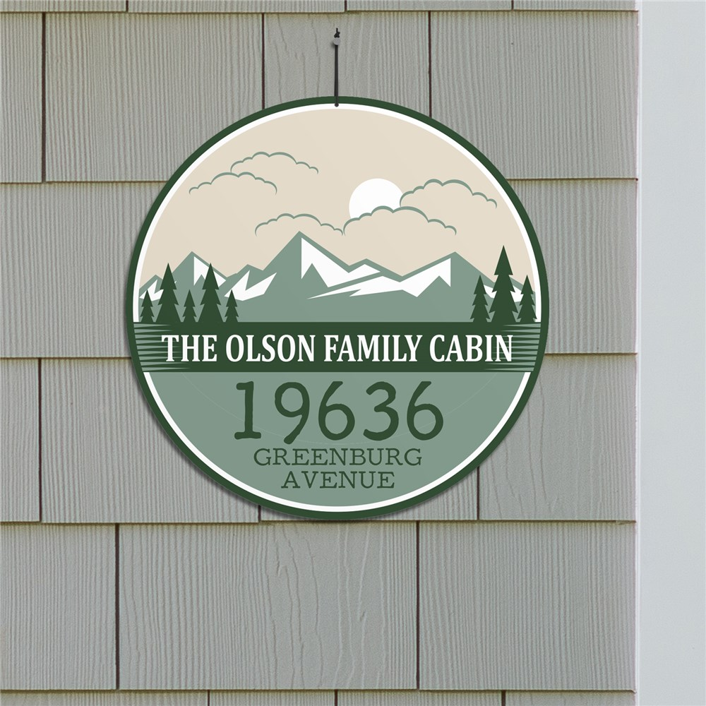 Personalized Family Cabin Sign | Camping Signs