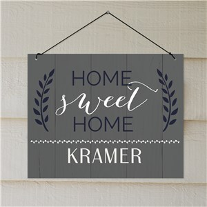 Home Sweet Home Personalized Address Sign | Personalized Signs