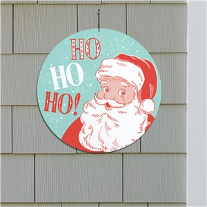 Retro Christmas Decorations | Vintage Santa Sign