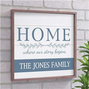 Where Our Story Begins Wall Decor | Wood Pallet Home Decor