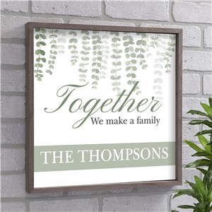 Personalized Family Wall Decor | We Make A Family Wall Decor