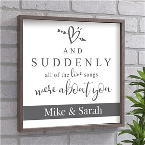 Valentine Signs | Personalized Wall Art