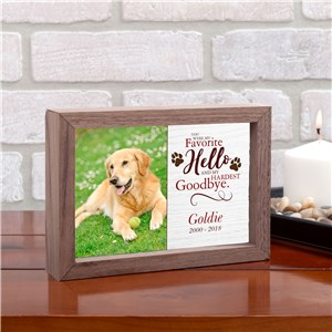 Pet Memorial Gifts | Framed Pet Art