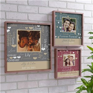 Framed Photo Art | Personalized Valentine's Gifts