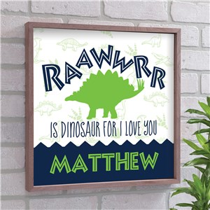 Dinosaur Wall Decor | Dinosaur Kids Room Art