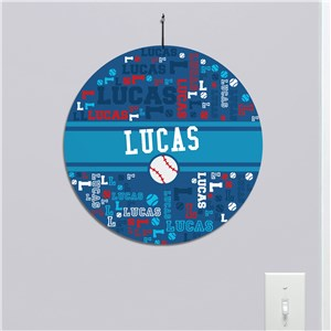 Sports Sign For Kids | Personalized Kids Decor