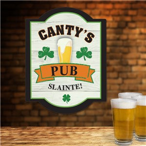 Personalized Irish Pub Signs | Gifts For Home Bars