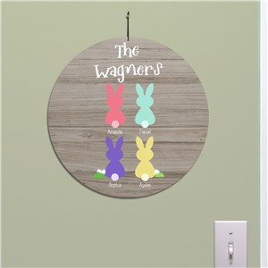 Easter Bunny Decor | Personalized Easter Decor For Home