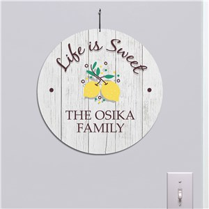 Spring Home Decor Sign | Lemon Themed Signs