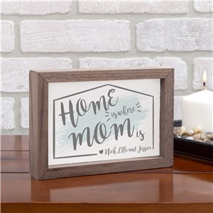 Personalized Table Top Sign | Thoughtful Gifts For Mom