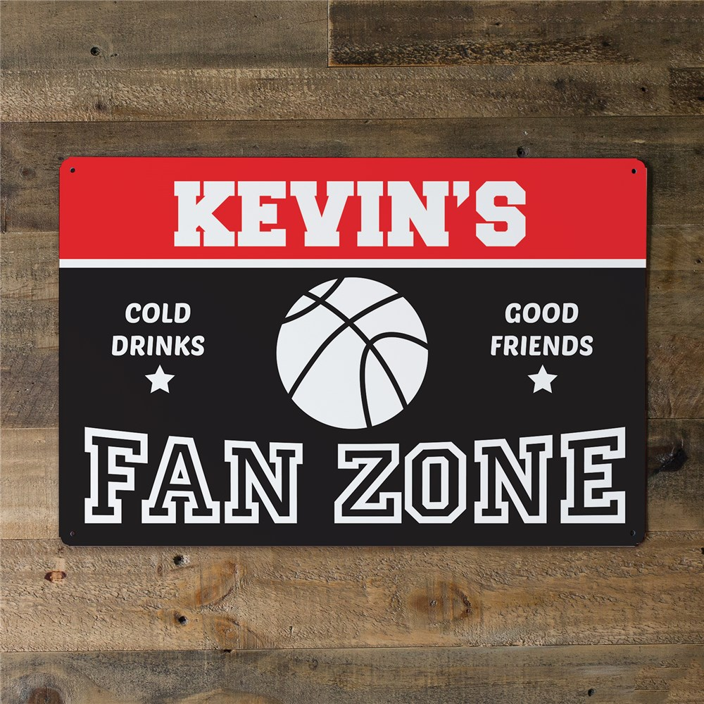 Customized Sports Wall Art | Personalized Sign for Sports Fans
