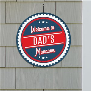 Man Cave Wall Sign | Personalized Man Cave Accessories