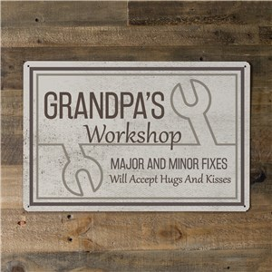 Garage Wall Art | Personalized Signs for Grandpa