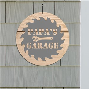 Personalized Garage Sign | Man Cave Wall Sign