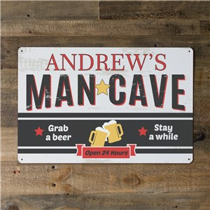Man Cave Wall Art | Personalized Gifts For Guys
