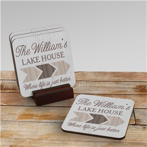 Personalized Drink Coasters | Life Is Better Personalized Gifts