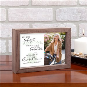 Personalized Memorial Sign | Photo Sympathy Gifts