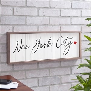Personalized Custom Message On Wood Background Wall Sign 61547815