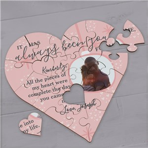 Personalized Valentine's Gift | Valentine Photo Puzzle