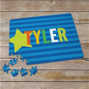 Personalized Kid Name Puzzle