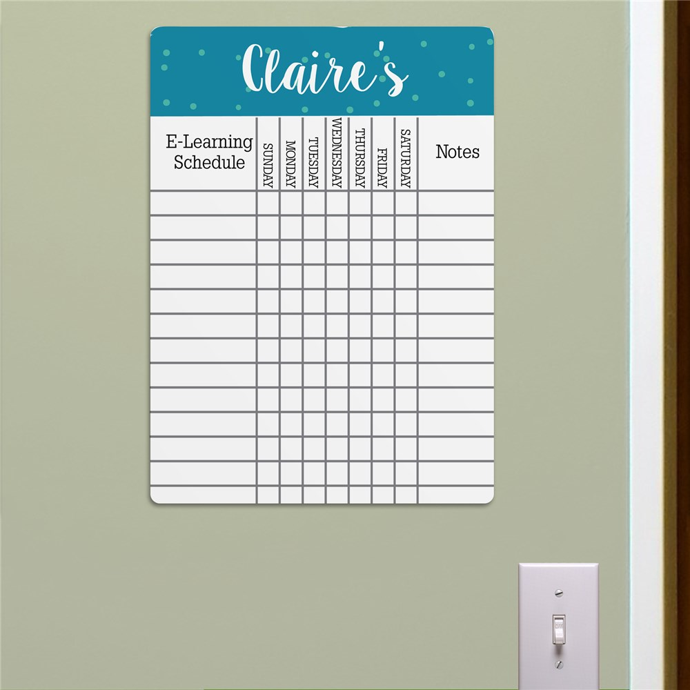 Personalized Polka Dot Chart 6163327