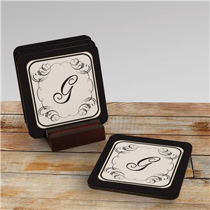 Monogram Coaster Set 620699CS